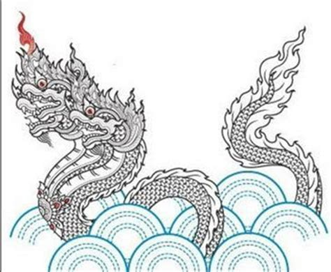 naga dragon tattoo pin tattoo naga thailand thai dragon gambar seni on pinterest