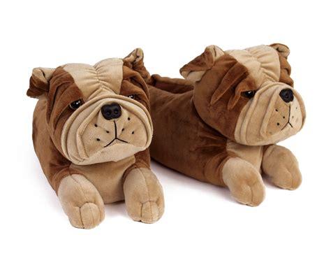 bulldogs slippers bulldog slippers bulldog animal slippers plush bulldog