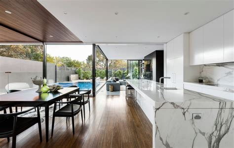 curva house by lsa architects interior design in melbourne australia