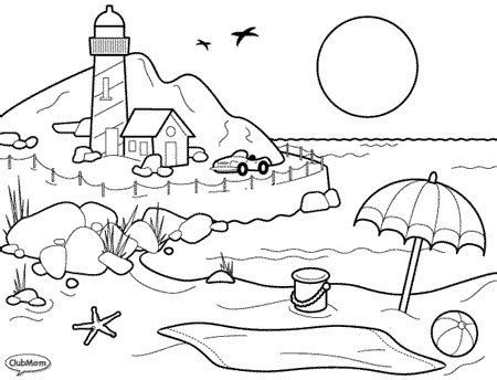bunnytown coloring page coloring pages for kids exotic beach coloring pages