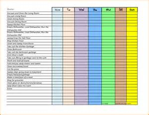 chore template chore chart excel www imgkid the image kid
