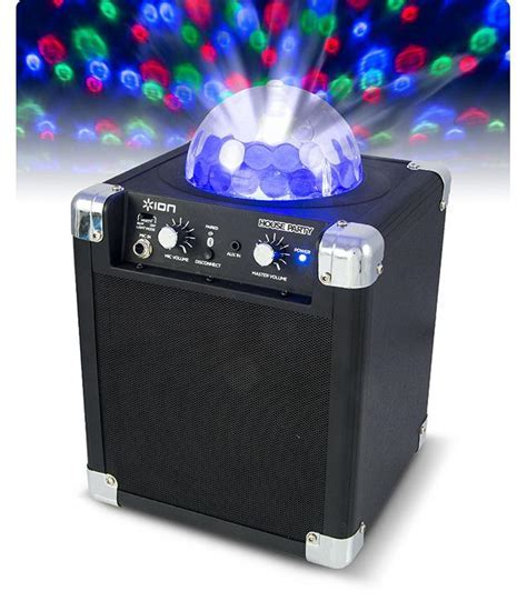 Ion House Party bluetooth speaker with party lights