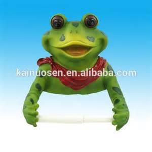 Funny Toilet Paper Holder Frog Bathroom Polyresin Toilet Paper Holder Buy