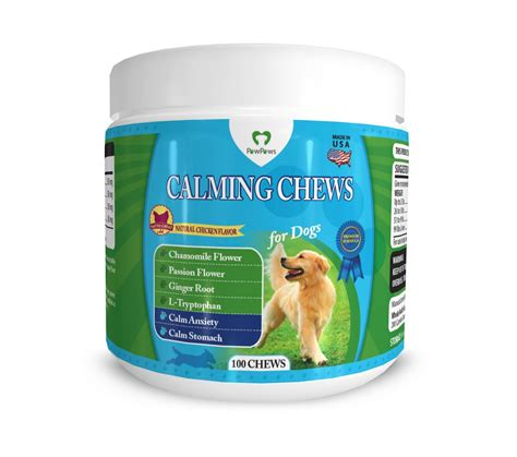 puppy calming treats special proprietary blended all chews can now calm anxiety in canines