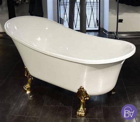vasca da bagno con piedini vasca con piedini freestanding in stile retr 242 bagni d autore