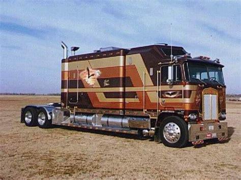 Big Sleeper Semi Trucks For Sale by Cabover Trucks Commercial Awesome Rigs