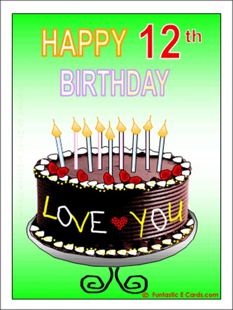 Twelfth Birthday Quotes 12th Birthday Quotes Funny Quotesgram