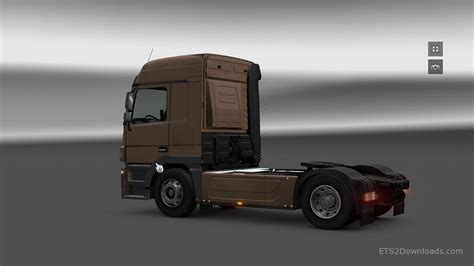 new mercedes cab new cab for mercedes actros truck simulator 2 mods