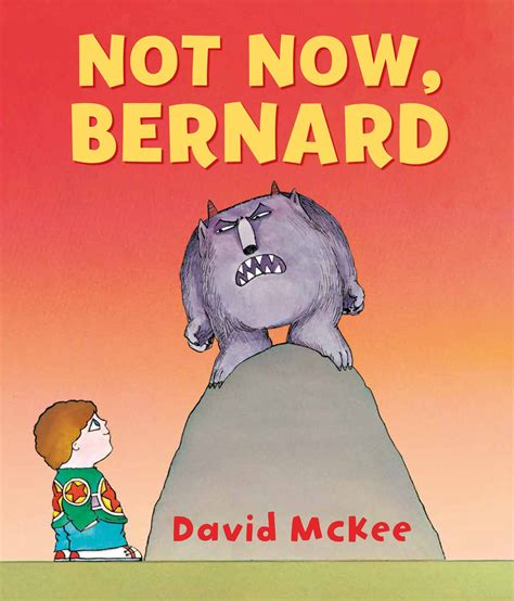 for now books a review a day today s review not now bernard