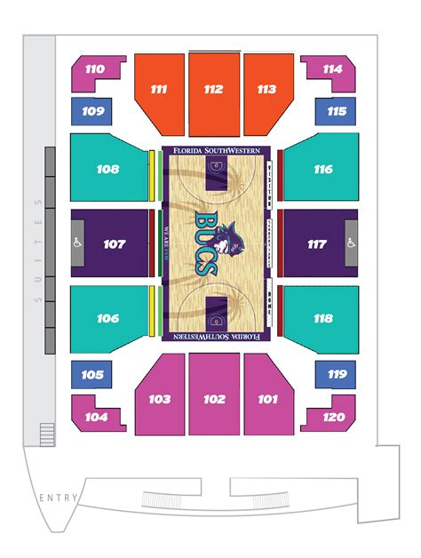 barbara b mann seating capacity capacity seating suncoast arena