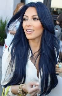 hairstyles with color for black blue black hair color ideas 2016 haircuts hairstyles