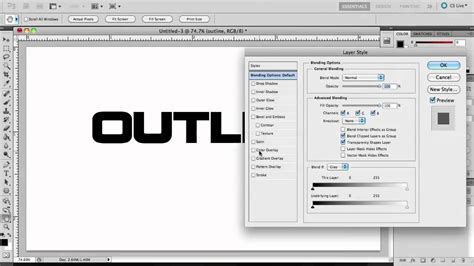 How To Make Outlines Of Pictures In Photoshop by Photoshop Cs5 How To Make Outline Text