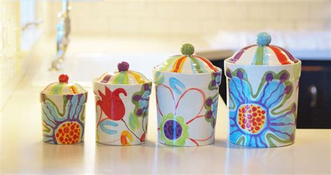 colorful kitchen canisters kitchen canister set canister set kitchen canisters