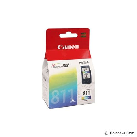 Canon Ink Cartridge Cl 811 Colour jual cartridge warna canon cl 811 murah bhinneka