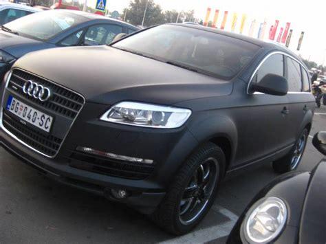 Audi Q7 Matt Black