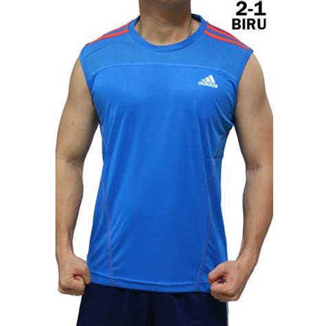 Kaos Kaki Adidas Biru jual kaos singlet adidas 2 1 biru 1 rumah jersey