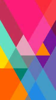 colorful iphone wallpaper flat color gradient triangles iphone 6 6 plus and iphone