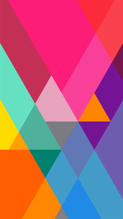 wallpaper iphone 5 flat flat color gradient triangles iphone 6 6 plus and iphone
