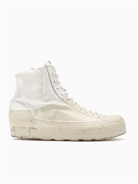 oxs sneakers oxs rubber soul leather sneakers in white for lyst