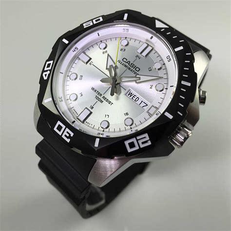 casio dive watches s casio black diver s look sports mtd1080 7av