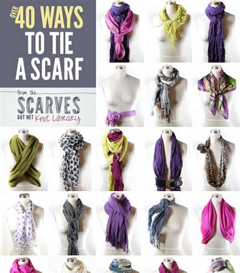 raising dudes and a doll 40 ways to tie a scarf