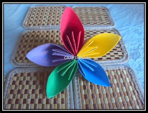 Easy Paper Flower Crafts - craftionary