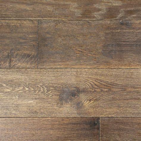 190mm oiled engineered tannery brown rustic oak wood floorin