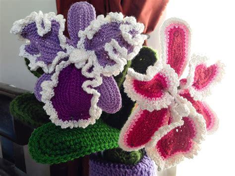 free pattern for crochet flowers crochet rockstar cattleya orchid crochet flower