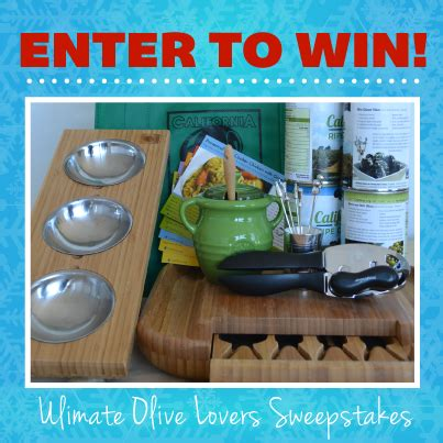 California Only Sweepstakes - california ripe olives sweepstakes