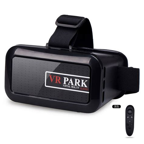 Vr Park V3 Smartphone Reality Headset With Bluetooth Remote Co vr park v2 smartphone reality headset with bluetooth remote black