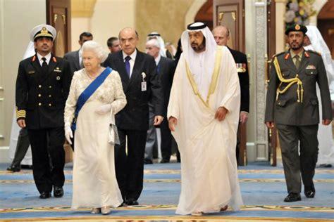 emirates queen state visit testament of bonds that tie the uk uae