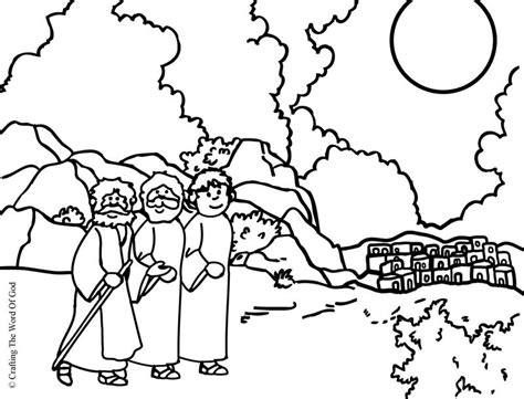 coloring page of jesus on the road to emmaus road to emmaus coloring page coloring home