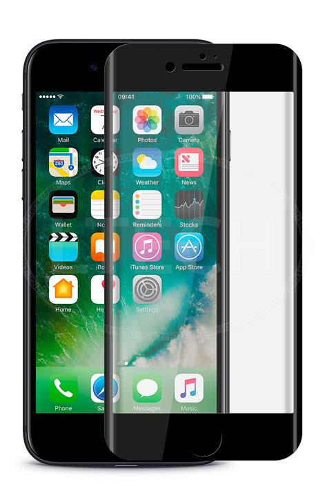 apple iphone 7 plus 5 5 quot screen 3d curved edge tempered glass black ebay
