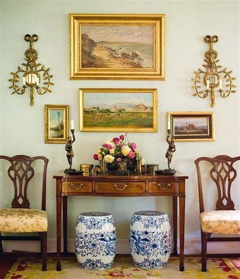 english country home decor english country foyer vignette the chairs the garden