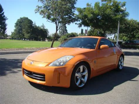 buy used 2007 nissan 350z touring coupe 6 speed manual leather bluetooth loaded 35k miles in