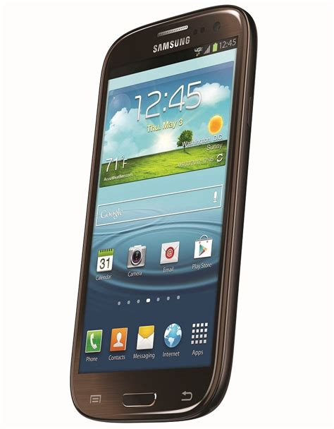 best android phone verizon samsung galaxy s iii 4g android phone brown 16gb verizon wireless the best smart phone