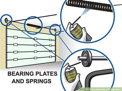 how to lubricate garage door do you lubricate garage door springs home desain 2018