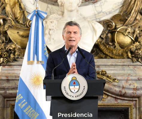anuncio de macri sobre de salario familiar argentina macri congela el sueldo del gobierno y proh 237 be