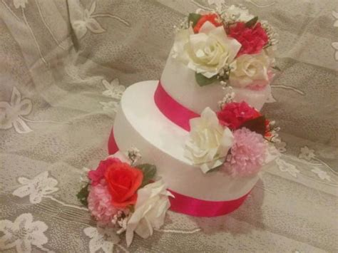 Silk Flower Wedding Cake by Silk Flower Cake Topper Wedding Cake Decorations Floral