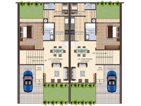 Row Home Plans by Row Houses Plan Villa Exotica Guwahati Assam Home