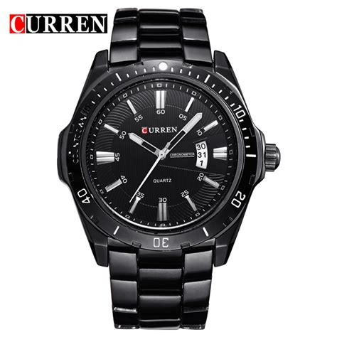fashion top brand curren watches casual sport