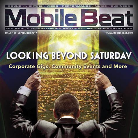 Cover Beat 2017 Mobile Beat 186 September 2017 Mobile Beat For Djs