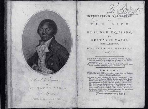the of olaudah equiano books olaudah equiano quotes on slavery quotesgram