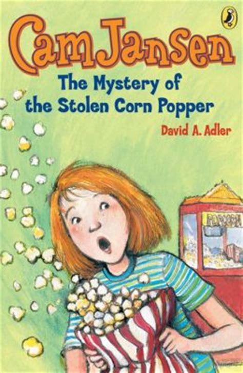the stolen books the mystery of the stolen corn popper jansen series