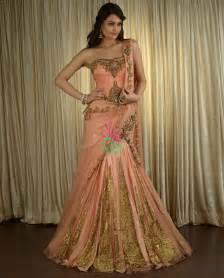 Kurta lehanga long heel shoes modern clothing party dresses peach