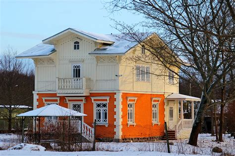 winter houses picture st petersburg russia winter cities houses