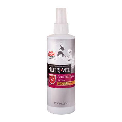 anti itch spray for dogs nutri vet 174 anti itch spray for dogs 8 oz at menards 174
