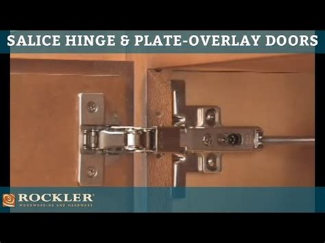 how to install salice cabinet hinges rockler s salice hinge and plate for overlay doors