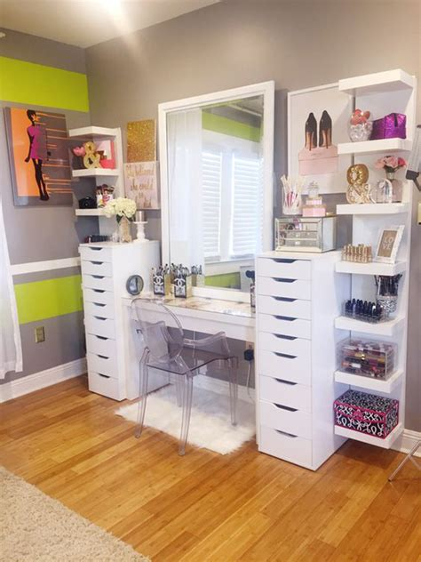makeup room furniture 20 modern diy makeup organizers with feel home design and interior