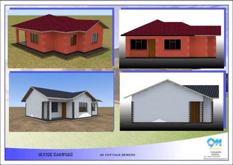house design zimbabwe house building plan drawing 3d modelling animation